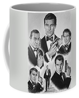 Licenced To Kill  Bw Coffee Mug