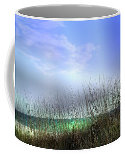 Coffee Mug featuring the photograph Lido Beach by Athala Carole Bruckner