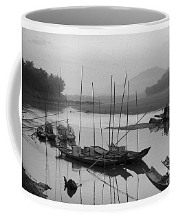 life at Mae Khong river Coffee Mug