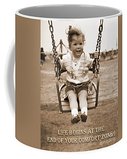 Life Begins Coffee Mug by Terri Waters