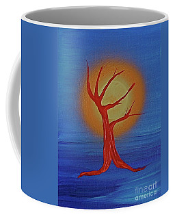 Coffee Mug featuring the painting Life Blood By Jrr by First Star Art