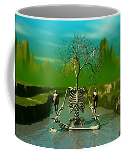 Life Death And The River Of Time Coffee Mug