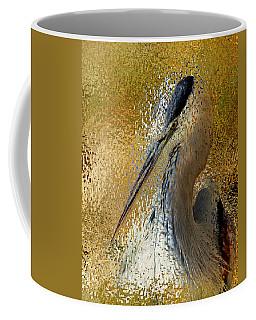Life In The Sunshine - Bird Art Abstract Realism Coffee Mug