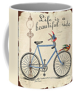 Life Is A Beautiful Ride Coffee Mug by Jean Plout