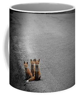 Life Is An Unknown Highway Coffee Mug