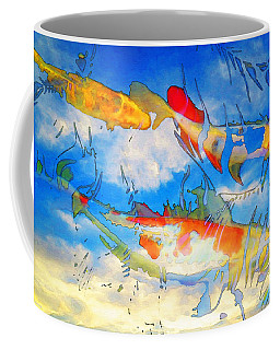 Life Is But A Dream - Koi Fish Art Coffee Mug
