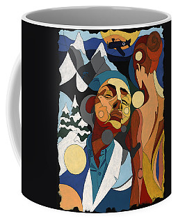 Life Of Roy Painting With Hidden Pictures Coffee Mug