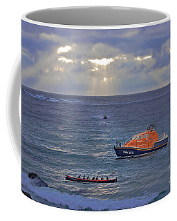 Lifeboats And A Gig Coffee Mug