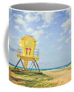 Lifeguard Tower At The Beach Coffee Mug