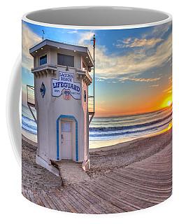 Lifeguard Tower On Main Beach Coffee Mug