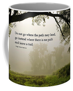 Life's Path Inspirational Art Coffee Mug