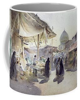 Light And Shade, Shiraz Bazaar, 1994 Wc On Paper Coffee Mug