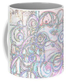 Light Circular Chicken Coffee Mug