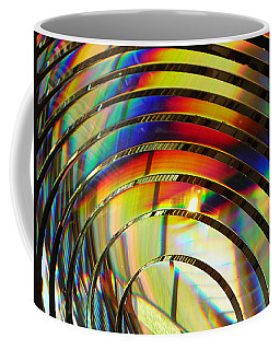 Light Color 2 Prism Rainbow Glass Abstract By Jan Marvin Studios Coffee Mug