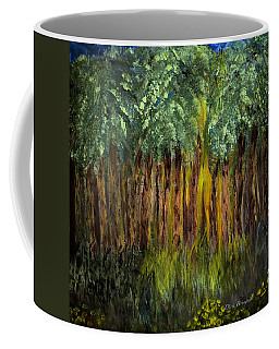Light In The Forest Coffee Mug by Dick Bourgault