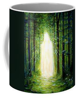 Light In The Garden Coffee Mug by Heather Calderon