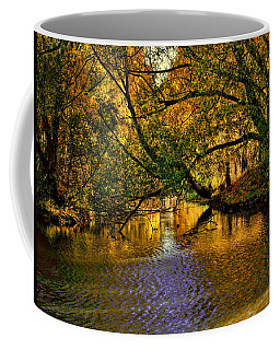 Light In The Trees Coffee Mug by Leif Sohlman