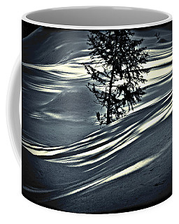 Coffee Mug featuring the photograph Light On The Snow by Janie Johnson