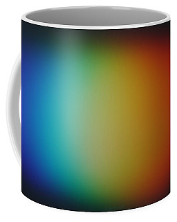 Coffee Mug featuring the photograph Light Refracted - Rainbow Through Prism by Denise Beverly