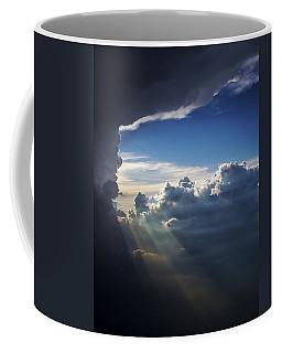 Light Shafts From Thunderstorm II Coffee Mug