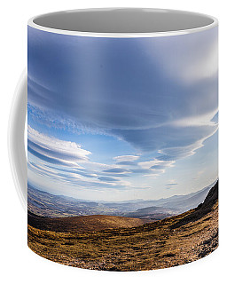 Lightfall On Djouce Mountain Summit Coffee Mug