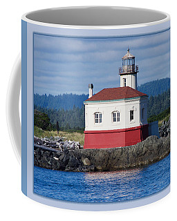 Coffee Mug featuring the photograph Lighthouse by Adria Trail