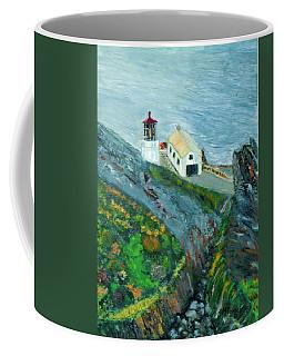 Lighthouse At Point Reyes California Coffee Mug