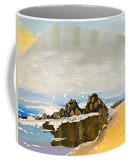 Lighthouse Beach Coffee Mug