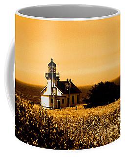 Lighthouse In Autumn Coffee Mug
