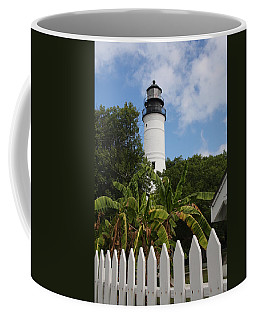 Coffee Mug featuring the photograph A Sailoirs Guide On The Florida Keys by Christiane Schulze Art And Photography