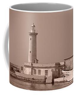 Lighthouse Marsala Coffee Mug