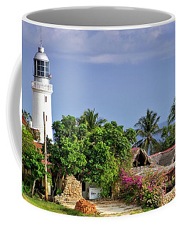 Lighthouse Santiago De Cuba Coffee Mug by Lynn Bolt