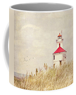 Lighthouse With Red Roof Coffee Mug
