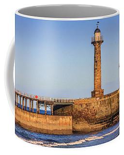 Lighthouses On The Piers Coffee Mug