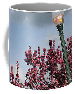 Coffee Mug featuring the photograph Lighting Up The Day by Michael Krek