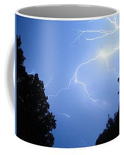 Lighting Up The Night Coffee Mug by Tiffany Erdman