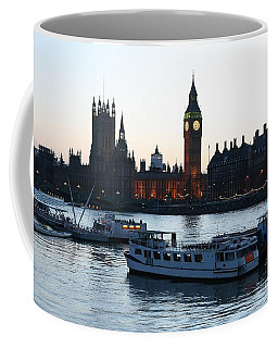 Lighting Up Time On The Thames Coffee Mug