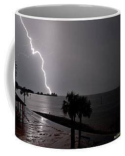 Coffee Mug featuring the photograph Lightning 1 by Richard Zentner