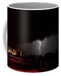 Coffee Mug featuring the photograph Lightning 10 by Richard Zentner
