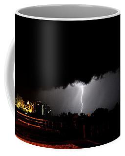 Coffee Mug featuring the photograph Lightning 11 by Richard Zentner