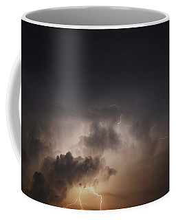 Coffee Mug featuring the photograph Lightning 8 by Richard Zentner