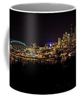Lights Of Seattle Coffee Mug