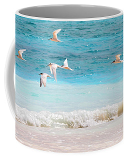Like Birds In The Air Coffee Mug