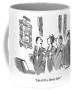 Like It?  It's A Morley Safer Coffee Mug