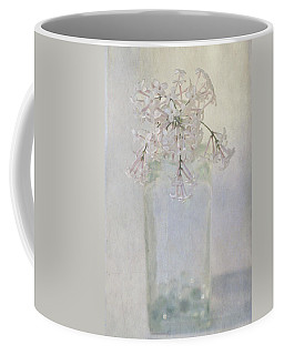 Coffee Mug featuring the photograph Lilac Flower by Annie Snel