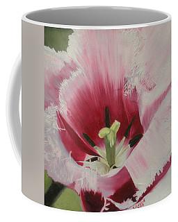 Lilicaea Tulipa Coffee Mug by Claudia Goodell