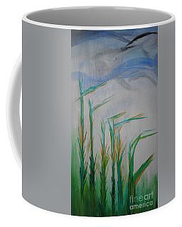 Lillies Of The Creek Coffee Mug