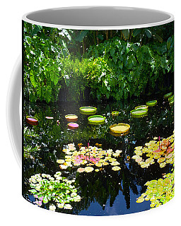 Lilly Garden Coffee Mug