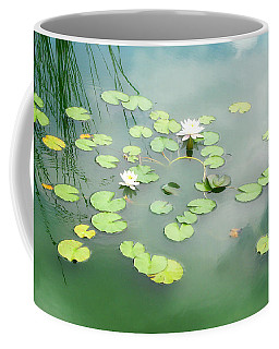 Coffee Mug featuring the photograph Lilly Pads by Erika Weber