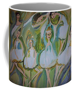Lily Allegro Ballet Coffee Mug by Judith Desrosiers
